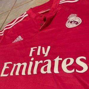 Adidas Real Madrid James Rodriquez Soccer Jersey M